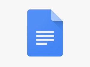 Google Docs Icon lead